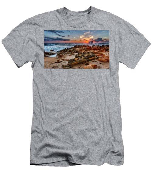 Rocky Sunrise Men's T-Shirt (Athletic Fit)
