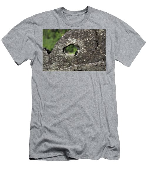 Men's T-Shirt (Athletic Fit) featuring the photograph Rocky View Point by Debbie Cundy