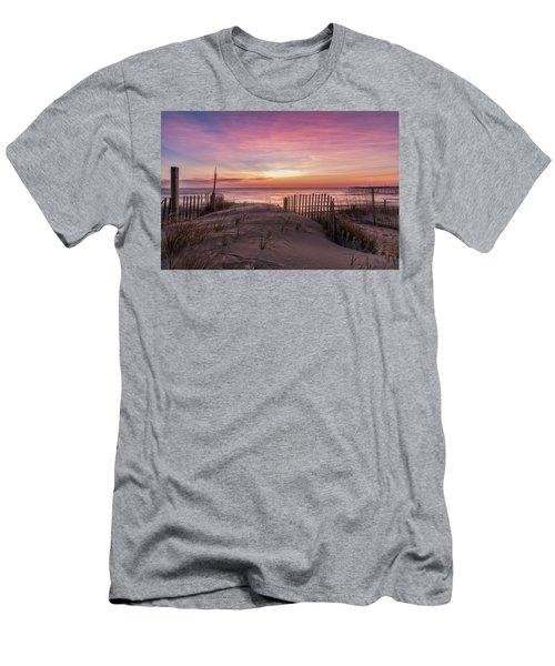 Rodanthe Sunrise Men's T-Shirt (Athletic Fit)