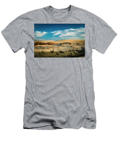 Rolling Sand Dunes Men's T-Shirt (Slim Fit)