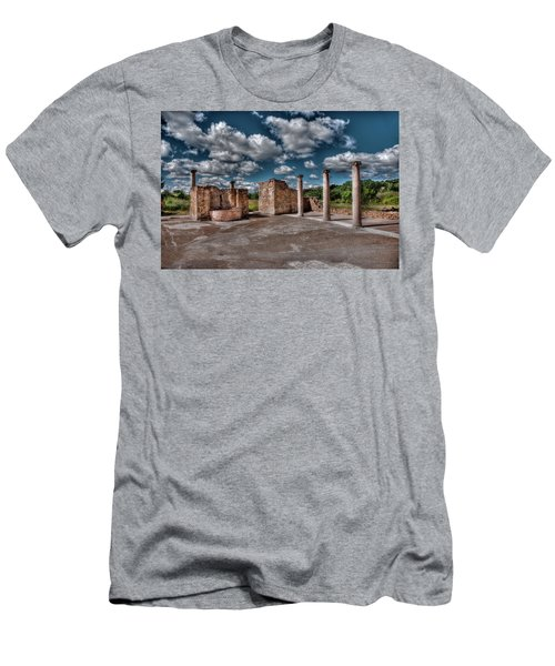 Roman Village  Men's T-Shirt (Slim Fit) by Patrick Boening