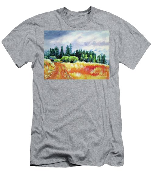 Romp On The Hill Men's T-Shirt (Athletic Fit)