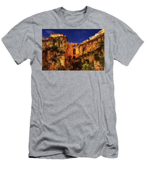 Ronda By Night Men's T-Shirt (Athletic Fit)