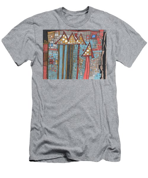 Dilapidated World Men's T-Shirt (Athletic Fit)