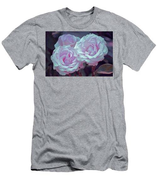 Rose 118 Men's T-Shirt (Slim Fit) by Pamela Cooper