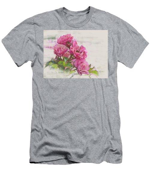 Rose 2 Men's T-Shirt (Athletic Fit)