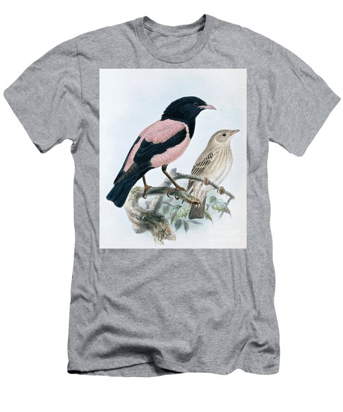 Rose Colored Starling Men's T-Shirt (Athletic Fit)