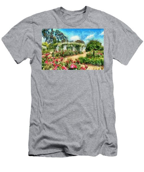 Rose Garden Men's T-Shirt (Athletic Fit)