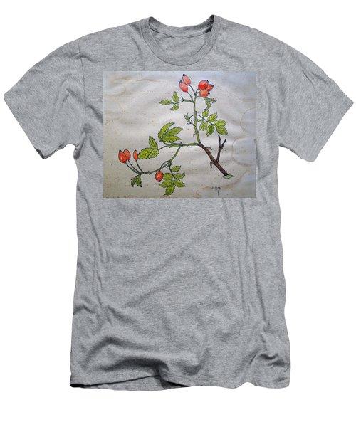 Rose Hip Men's T-Shirt (Athletic Fit)