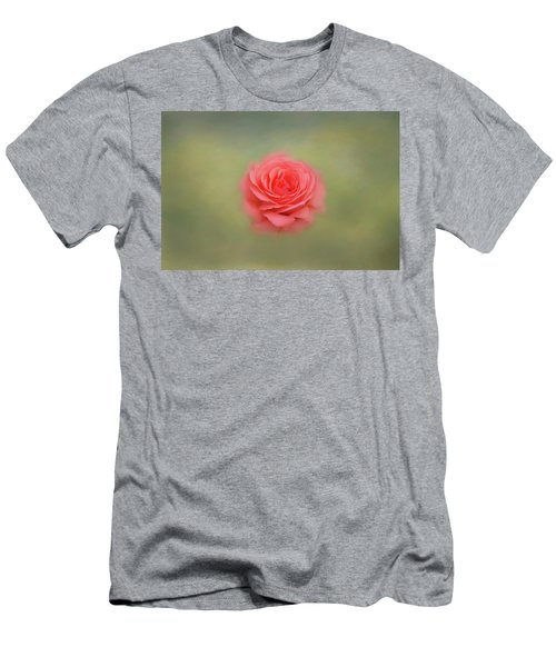 Men's T-Shirt (Athletic Fit) featuring the photograph Rose Impressions by Kim Hojnacki