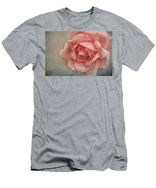 Rose New Dawn Men's T-Shirt (Athletic Fit)