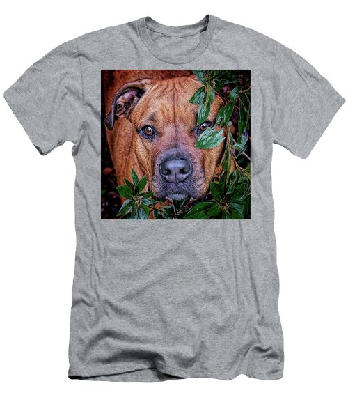 Men's T-Shirt (Athletic Fit) featuring the photograph Rosebud by Lewis Mann