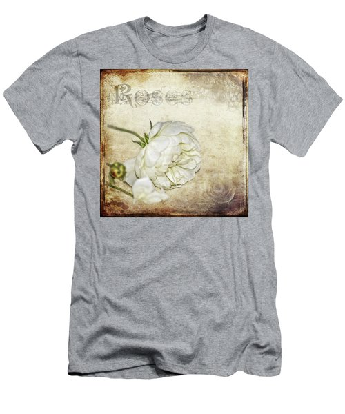 Men's T-Shirt (Slim Fit) featuring the photograph Roses by Carolyn Marshall