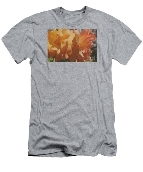 Men's T-Shirt (Slim Fit) featuring the photograph Roses by Cassandra Buckley