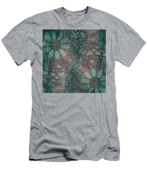 Rosette Stamps Men's T-Shirt (Athletic Fit)