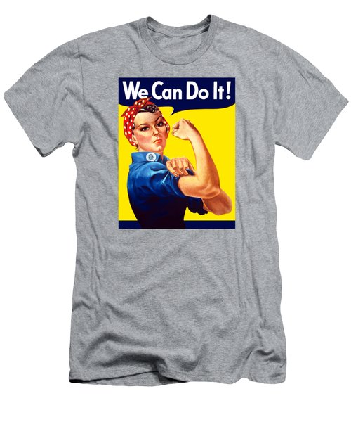 Rosie The Rivetor Men's T-Shirt (Athletic Fit)