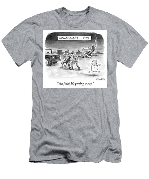 Roswell Nm 1947 Men's T-Shirt (Athletic Fit)