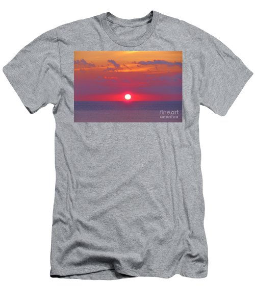 Rosy Sunrise Men's T-Shirt (Athletic Fit)