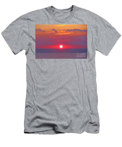 Rosy Sunrise Men's T-Shirt (Athletic Fit)