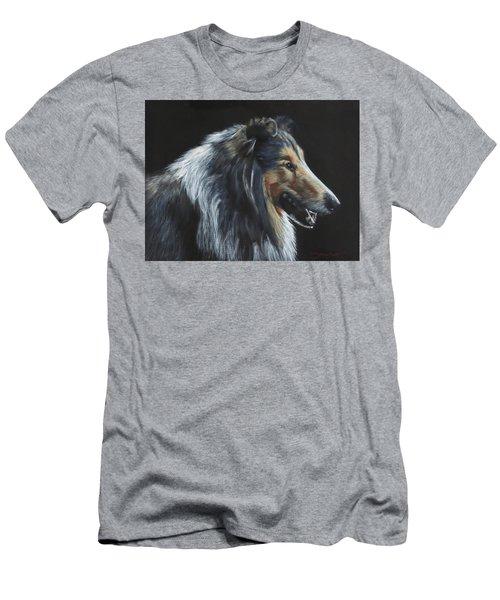 Rough Collie Men's T-Shirt (Athletic Fit)