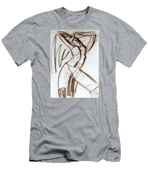 Men's T-Shirt (Slim Fit) featuring the drawing Rough  by Jarko Aka Lui Grande