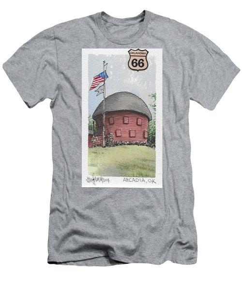 Route 66 Ok Men's T-Shirt (Athletic Fit)