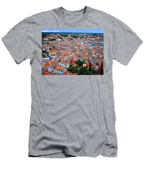 Rovinj - Croatia Men's T-Shirt (Athletic Fit)