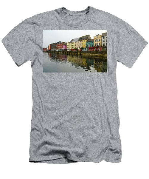 Row Homes On The River Lee, Cork, Ireland Men's T-Shirt (Athletic Fit)