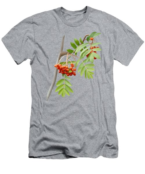 Men's T-Shirt (Athletic Fit) featuring the painting Rowan Tree by Ivana Westin