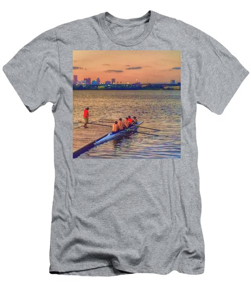 Rowing Club Men's T-Shirt (Athletic Fit)