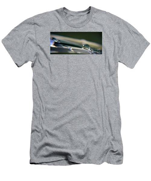 Rowling Droplets   Men's T-Shirt (Slim Fit) by Yumi Johnson