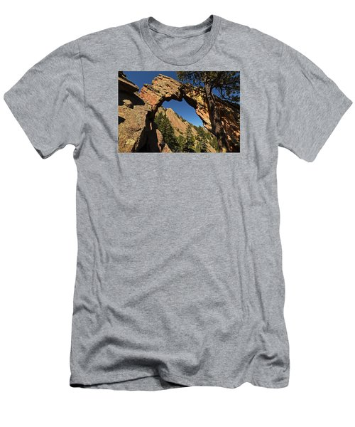 Royal Arch Trail Arch Boulder Colorado Men's T-Shirt (Athletic Fit)