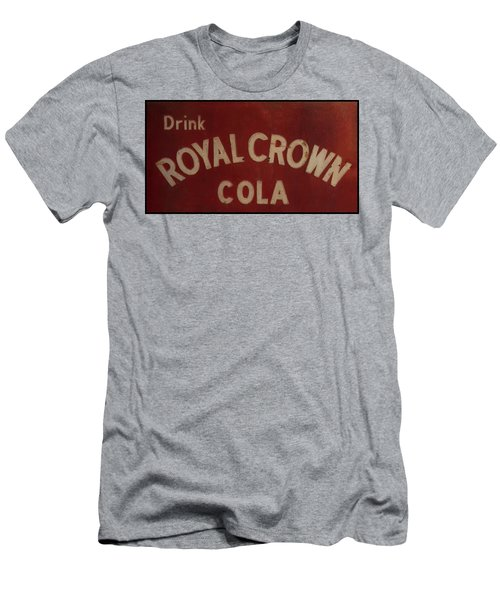 Men's T-Shirt (Athletic Fit) featuring the photograph Royal Crown Cola Sign by Chris Flees