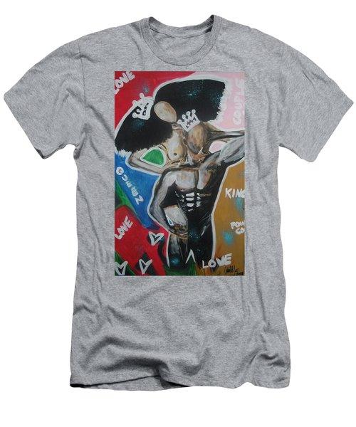 Royal Love Men's T-Shirt (Athletic Fit)
