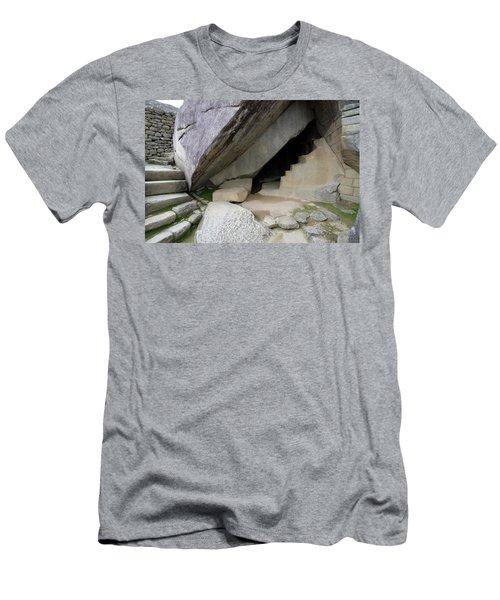 Royal Tomb, Machu Picchu, Peru Men's T-Shirt (Slim Fit) by Aidan Moran