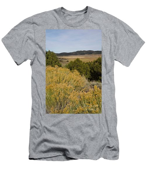 Rt 72 Utah Men's T-Shirt (Slim Fit) by Cindy Murphy - NightVisions