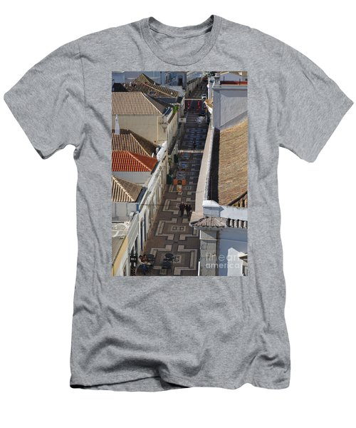 Rua Do Crime In Faro Men's T-Shirt (Athletic Fit)
