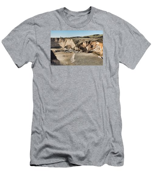 Rugged Coastline Men's T-Shirt (Athletic Fit)