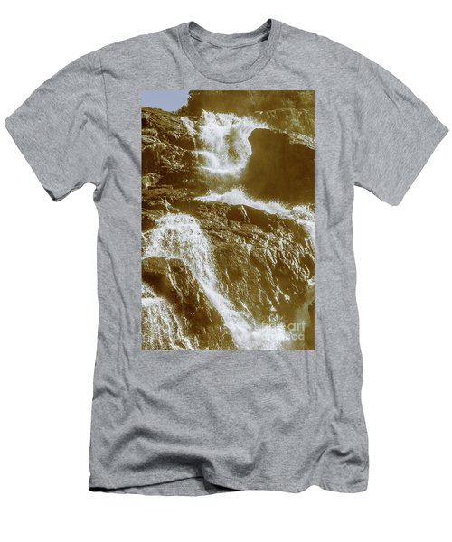 Rugged Water Rapids Men's T-Shirt (Athletic Fit)