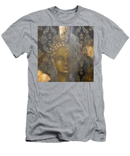 Ruined Palace Buddha Men's T-Shirt (Slim Fit) by Dina Dargo