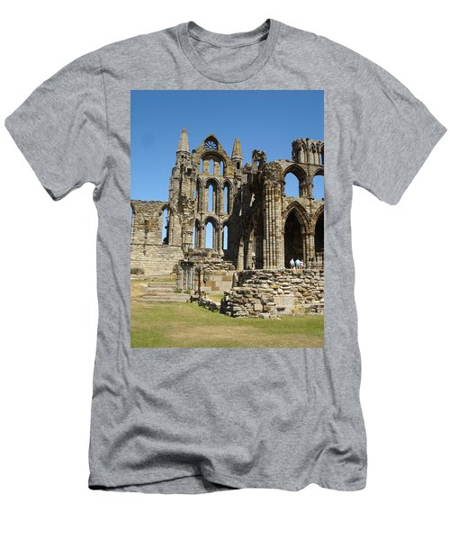 Ruins Of Whitby Abbey Men's T-Shirt (Athletic Fit)
