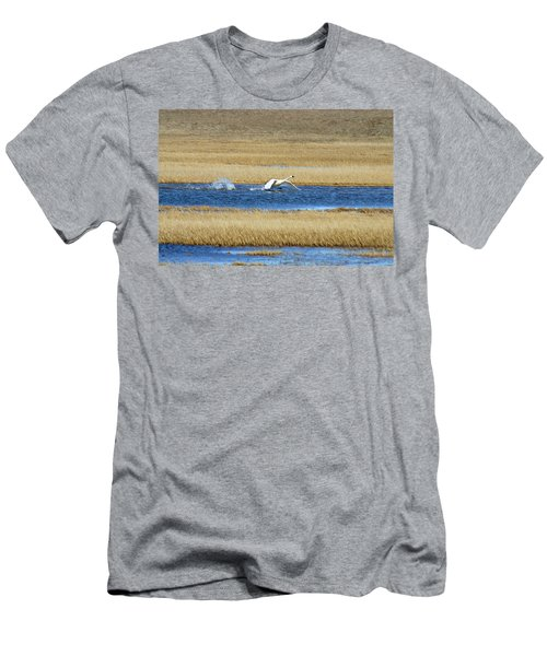 Running On Water Men's T-Shirt (Athletic Fit)