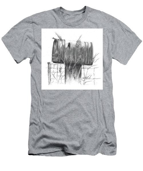 Rural Country Mailbox Men's T-Shirt (Athletic Fit)