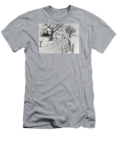 Rural Living Men's T-Shirt (Slim Fit) by Jack G Brauer