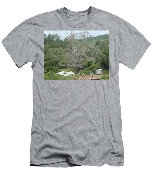 Rural Scenery Men's T-Shirt (Athletic Fit)