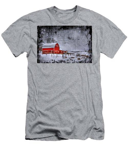 Rural Textures Men's T-Shirt (Athletic Fit)