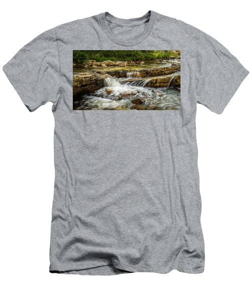 Rushing Waters - Upper Provo River Men's T-Shirt (Athletic Fit)