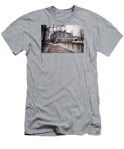 Russian Home January 89 Men's T-Shirt (Slim Fit) by Ted Pollard