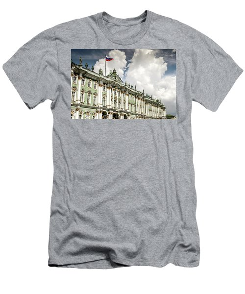 Russian Winter Palace Men's T-Shirt (Athletic Fit)