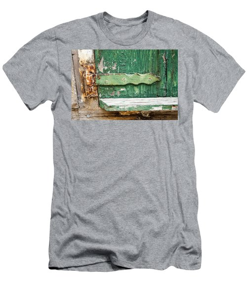 Rust And Paint Men's T-Shirt (Slim Fit) by Allen Carroll